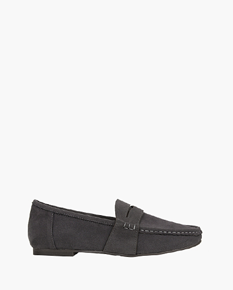 suede penny loafer (5 colors)
