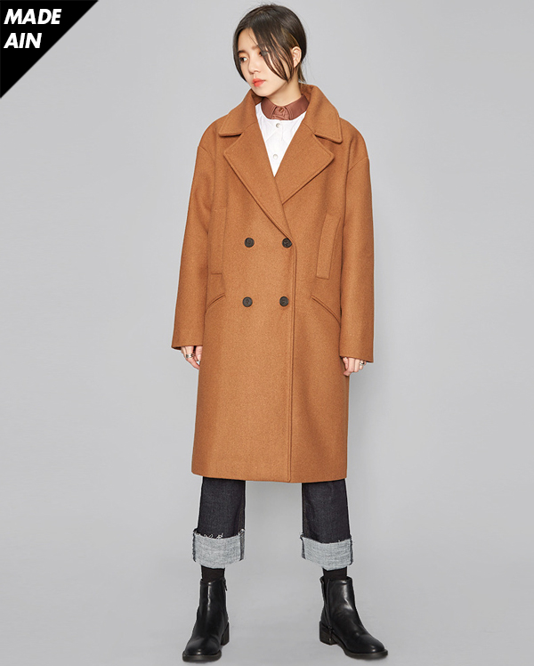 FRESH A wool double coat (4 colors)