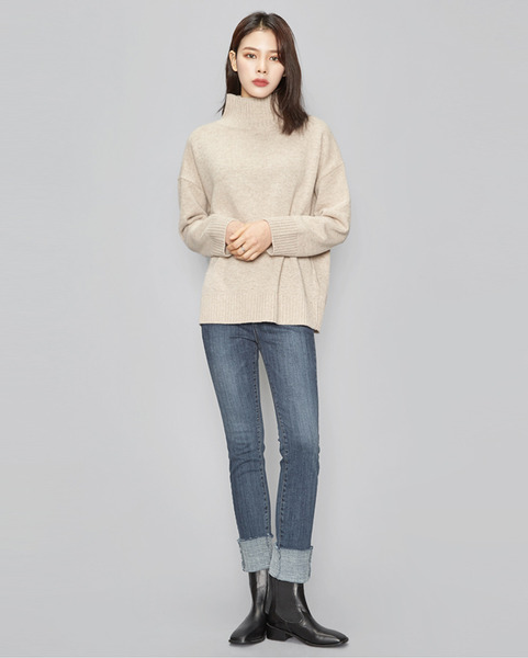 daily basic pola knit (5 colors)