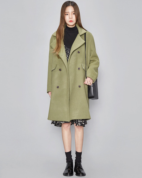 soft color double coat (2 colors)