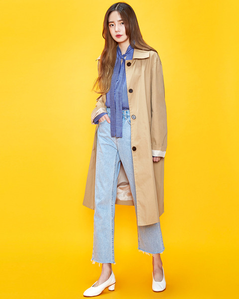 simple single trench coat (2 colors)