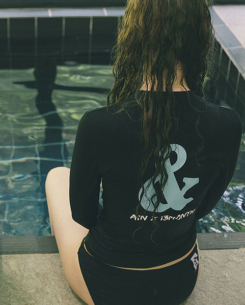 """AIN x 13MONTH"" rash guard (3 colors)"