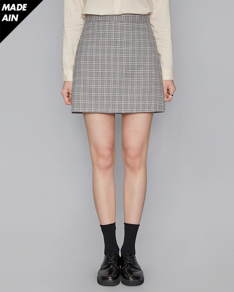 FRESH A check skirt (2 colors)