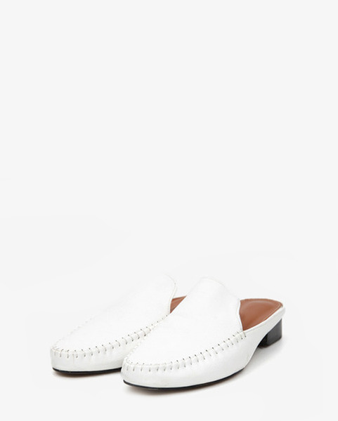'JEJU' Indian moccasin slip sandals (3 colors)