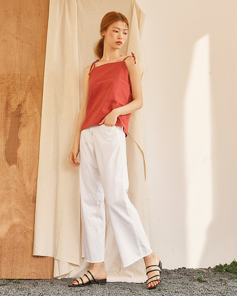 long length cool denim pants (2 colors)