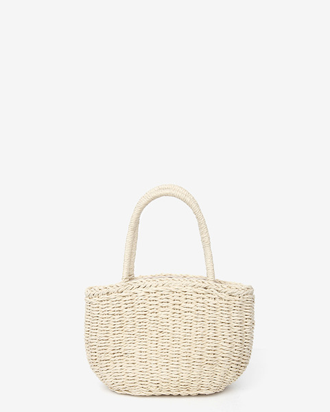basket mini tote bag