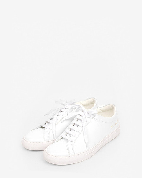 simple leather sneakers (3 colors)