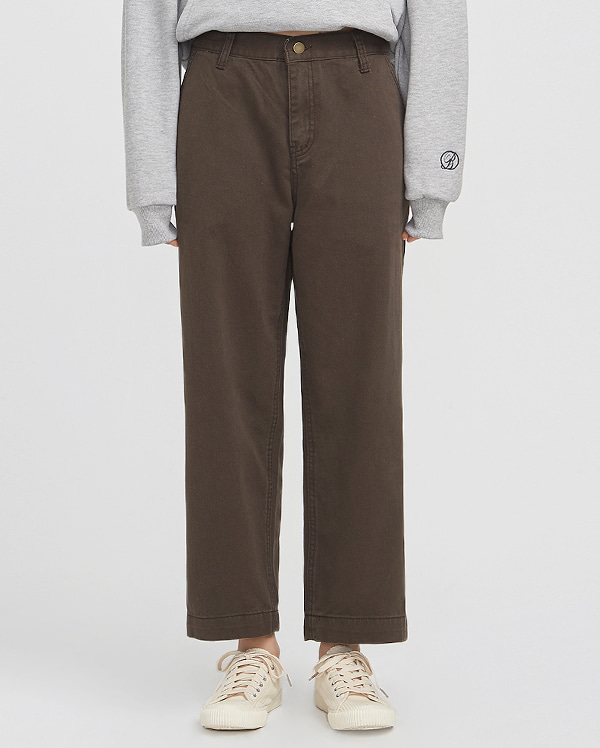 milestone wide cotton pants (s, m)