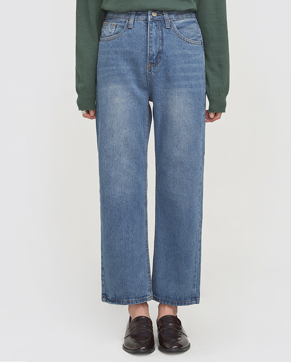 everything casual denim pants (s, m, l)