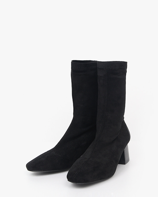 match suede socks boots (225-250)