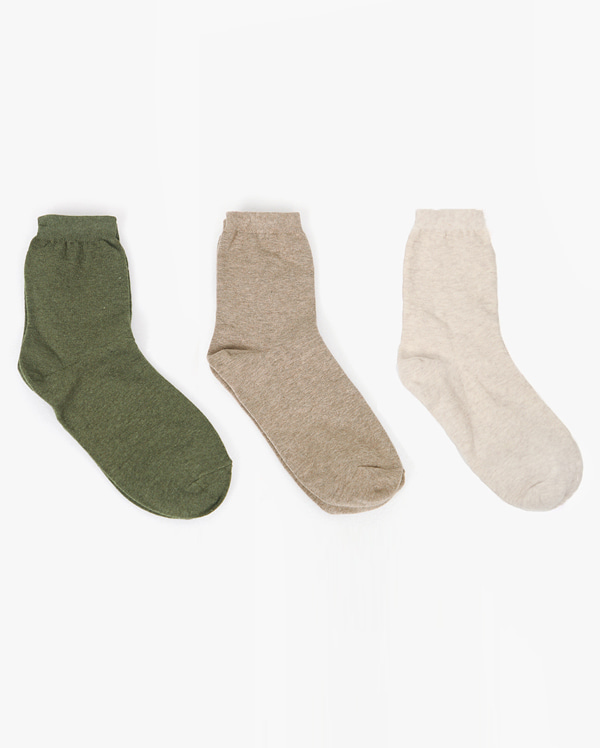 daily muji color socks