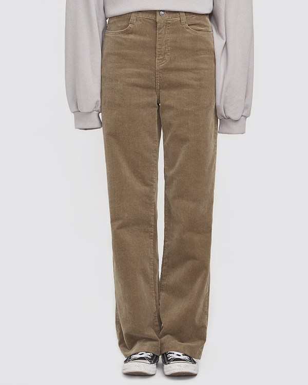 corduroy wide casual pants (s, m, l)