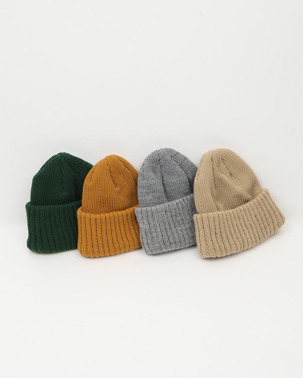 day color short beanie