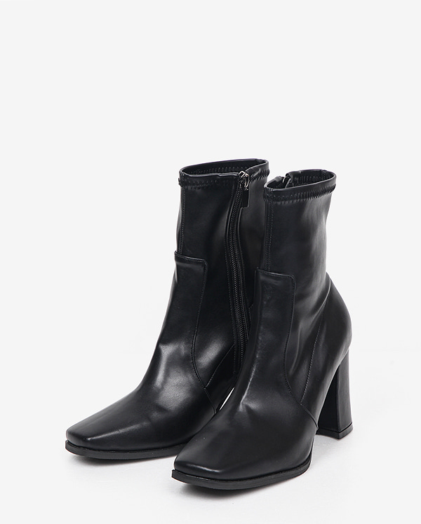 mannish square ankle boots (225-250)