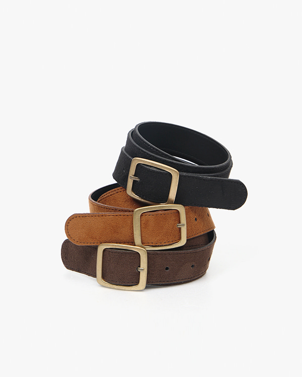 tender suede belt