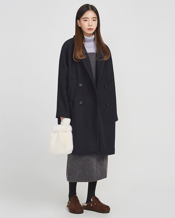 tomboy wear wool coat