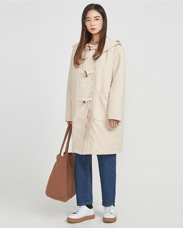 honey duffel coat