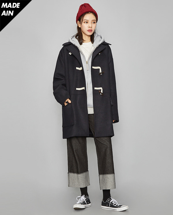 FRESH MORE wool duffle coat (2 colors)
