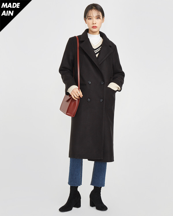 FRESH A wool simple coat