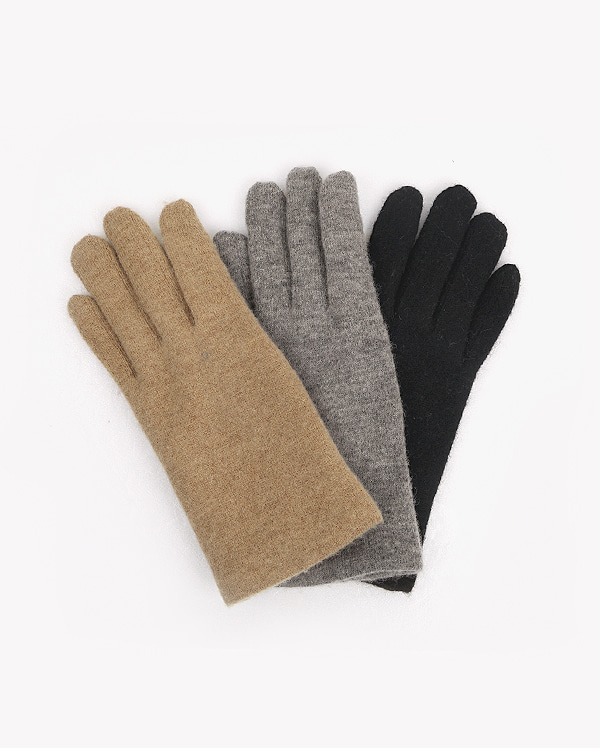 basic woolen wool gloves