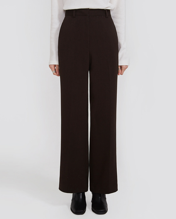 basic boots cut long slacks (s, m)