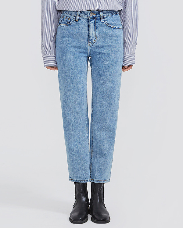duly straight denim pants (s, m, l)