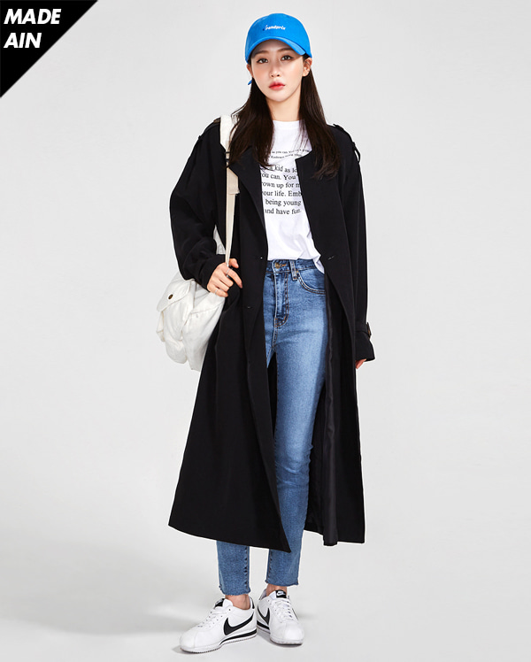 FRESH A spring daily trench coat