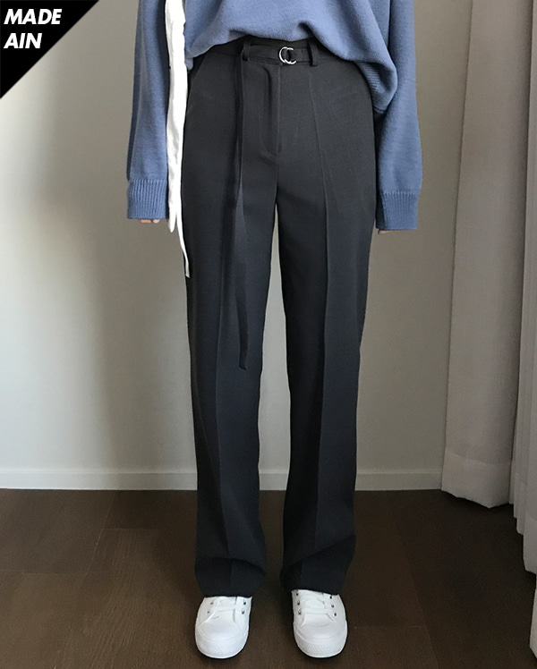 FRESH A belt slacks (s, m, l)