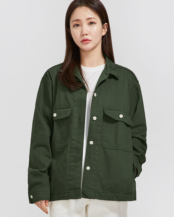 simple unique cotton jacket