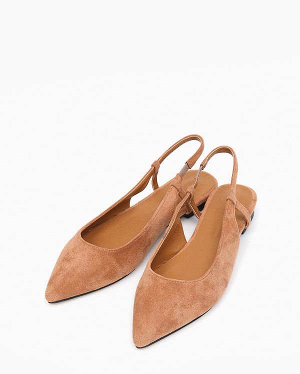 cheery suede slingback (225-250)