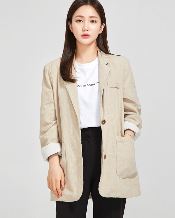 eileen basic jacket