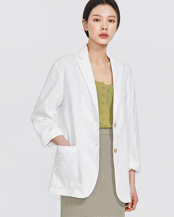 tom wearable linen jacket
