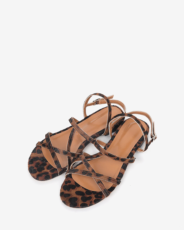 unique leopard sandal (230-250)