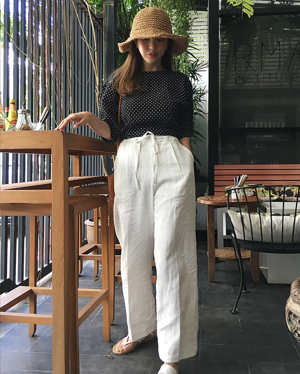 wearable linen pants