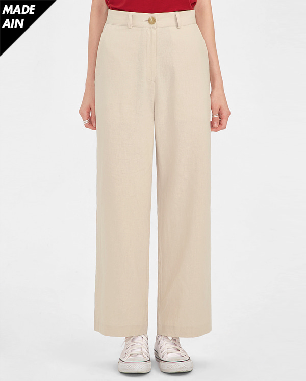 FRESH A summer linen pants (s, m, l)