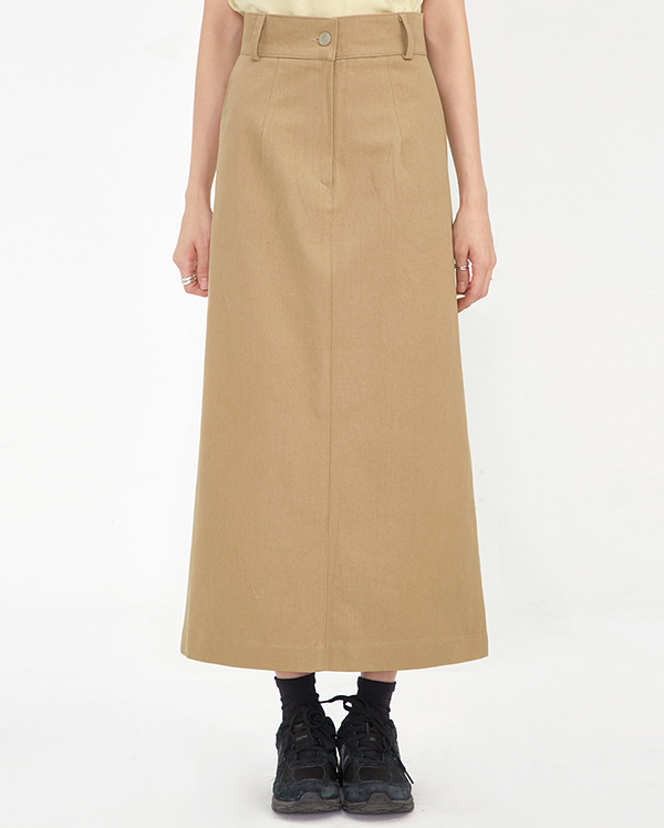say cotton long skirt (s, m)