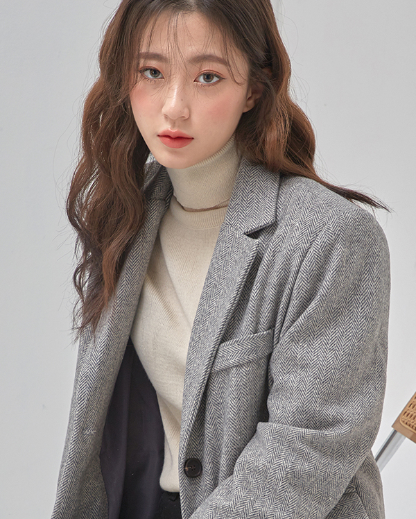 original herringbone wool jacket