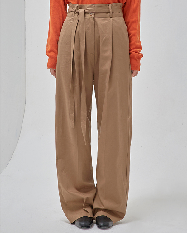catch wide long slacks (s, m)