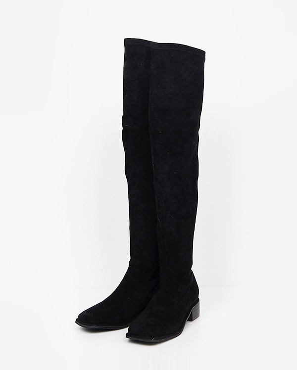 suede warm long boots (225-250)