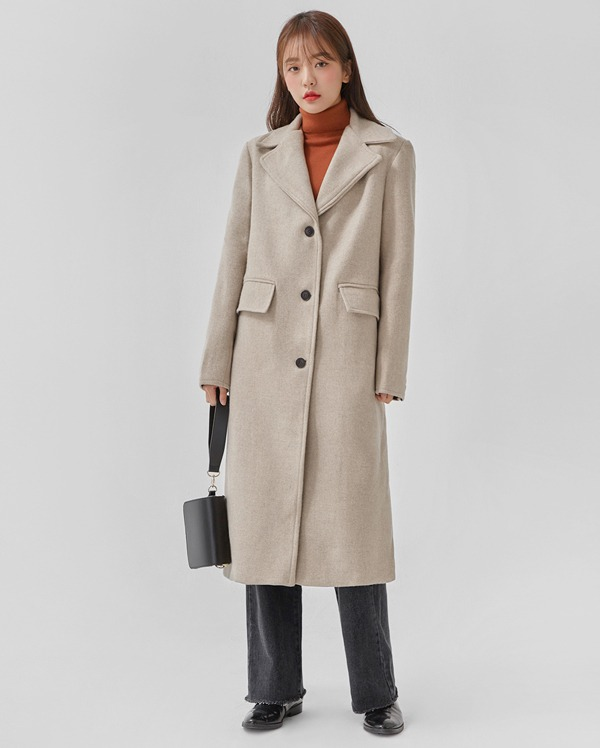 lucky wool single coat