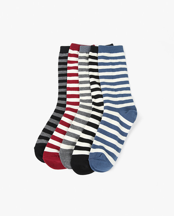 stand out stripe socks