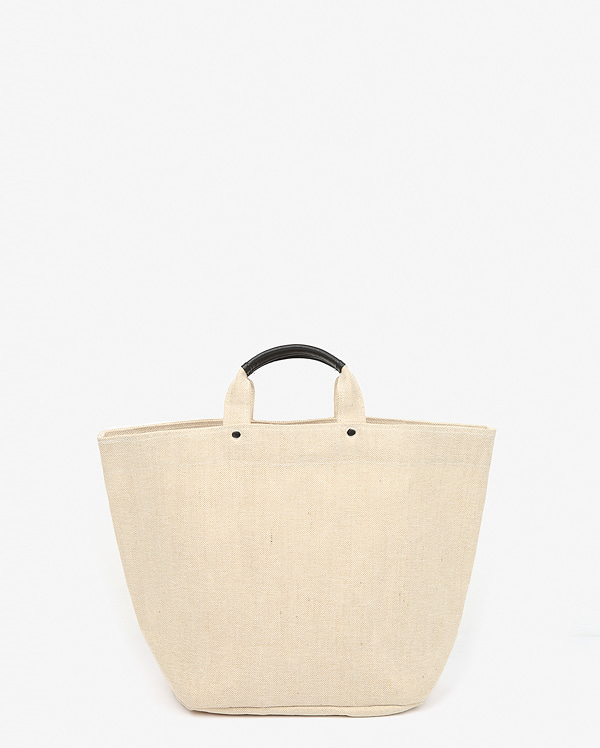 beige big tote bag