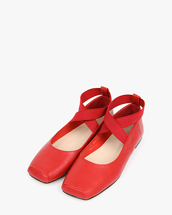 girl x-banding flat shoes (230-250)