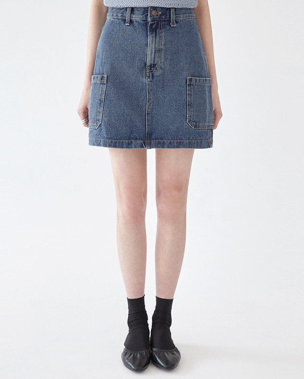 cargo pocket mini skirt (s, m, l)