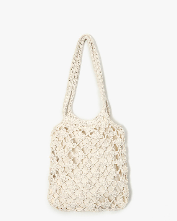 season vintage knit bag