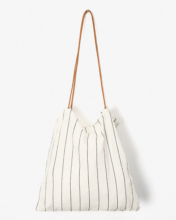 string stripe eco bag
