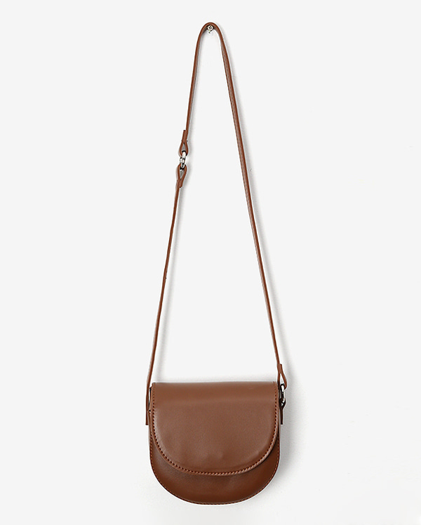 two half shoulder bag