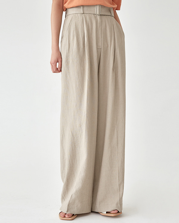 cool linen long pants