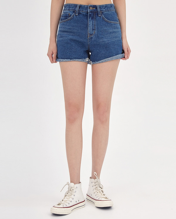 poin denim short pants (s, m, l)