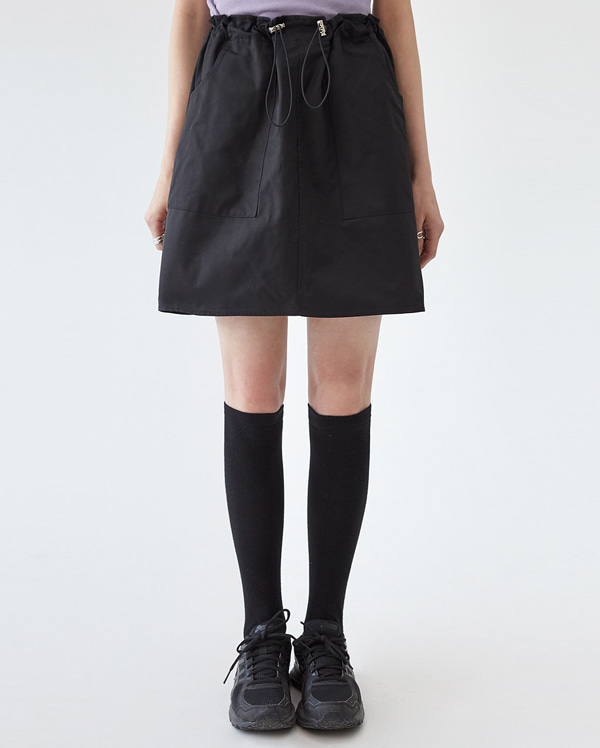 may string mini skirt